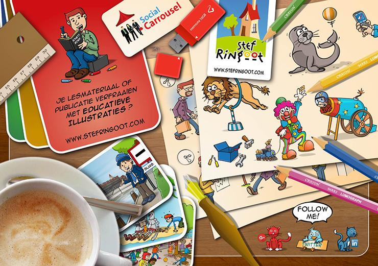 Educatieve illustraties voor al uw publicaties.