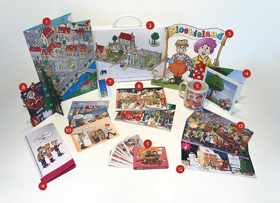 Fotocollage met een aantal mogelijkheden van Stef Ringoot. Cartoons, illustraties, animaties, vormgeving