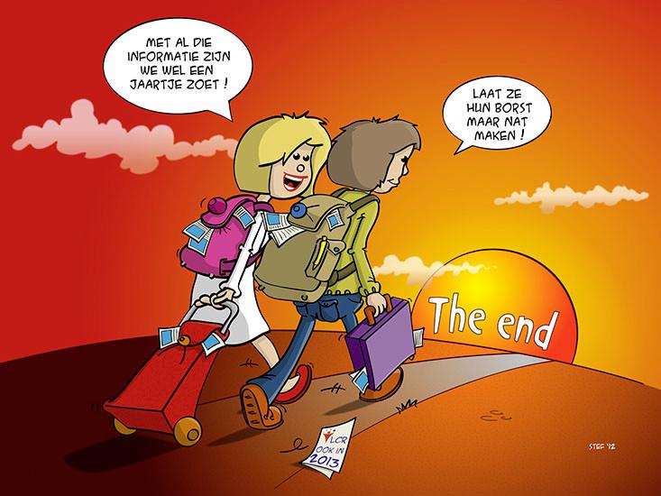 """""""The End"""", in opdracht van de LCR """"De landelijke Cliëntenraad voor hun jaarlijks congres."""