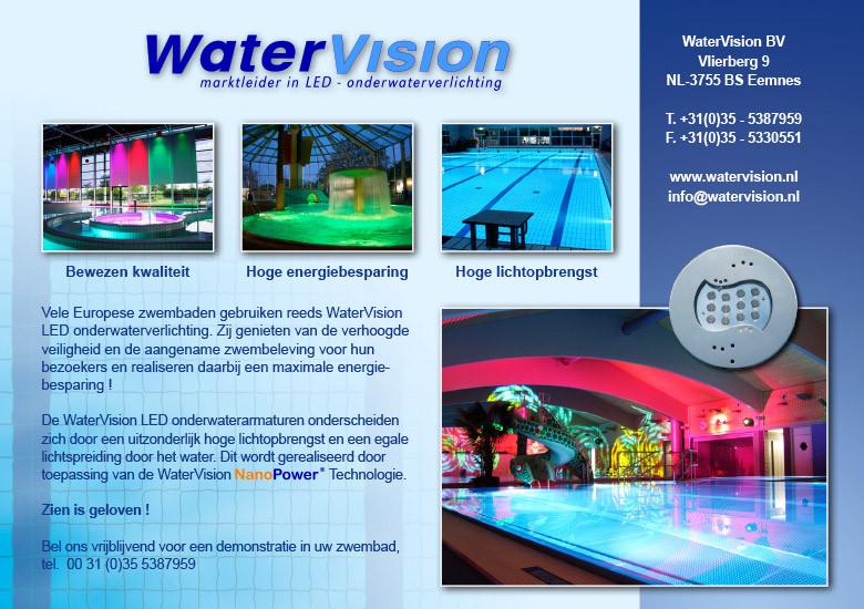 Advertentie voor Watervision