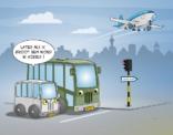 Cartoon ; Later als ik groot ben ... wordt ik airbus