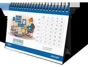 De Stone jaarkalender van 2021