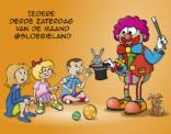 Illustratie voor clownfeest