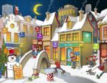 Kerstkaart 2016 voor stichting De Linde in opdracht van Typo Dynamo