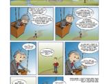 strip; De manager in de luchtballon