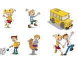 Diverse voorbeelden van illustraties als webbutton