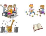 Voorbeelden van illustraties voor website