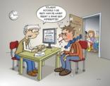 Cartoon; volgens doter google is er niets aan de hand.