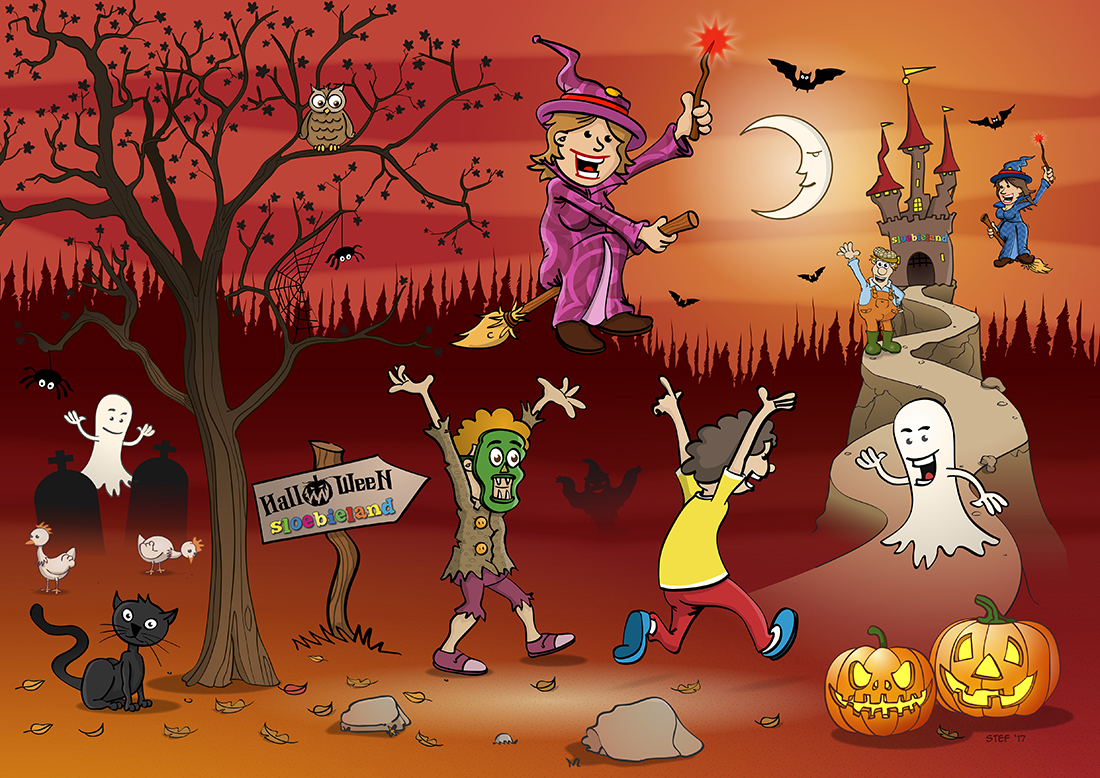 Halloweentekening