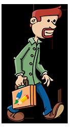 Het archief van Stef Ringoot, illustrator, cartoonist en vormgever