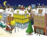 Illustratie voor kerstkaart