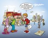 Cartoon voor afscheid voorzitter stichting Clip