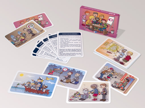 Educatief kaartspel
