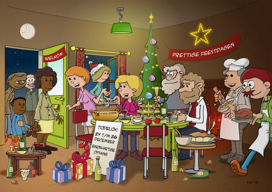 Kerstcartoon Voor Clip&Claar