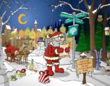Kerstkaart 2014 voor Stichting De Linde in opdracht van communicatiebureau Typo Dynamo