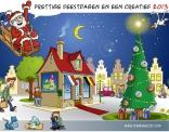 Ontwerp voor kerstkaart