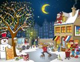 Kerstkaart 2015 in opdracht van Stichting De linde