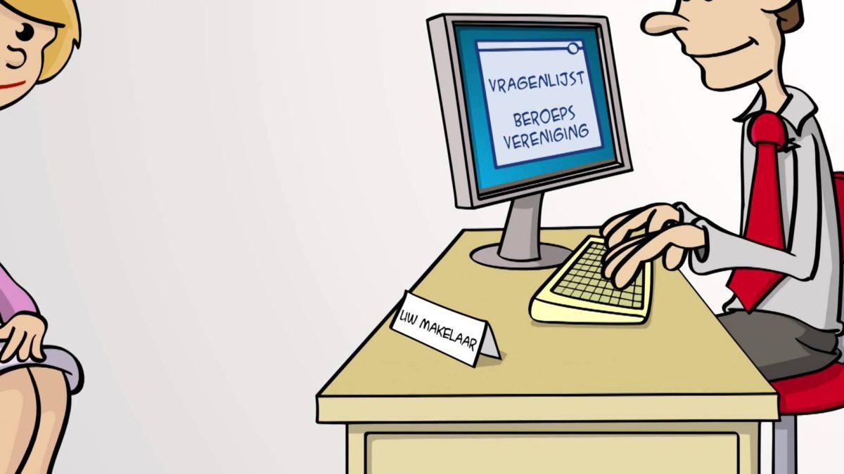 Online beleggen - animatie in opdracht.