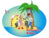 Karaoke show illustratie