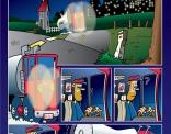 Plaat uit een stripverhaal