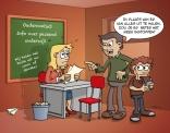 Cartoon - Alles halen uit passend onderwijs.