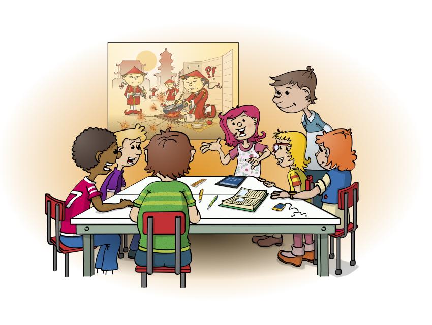 Boek illustraties, cartoons, illustraties, animaties, vormgeving