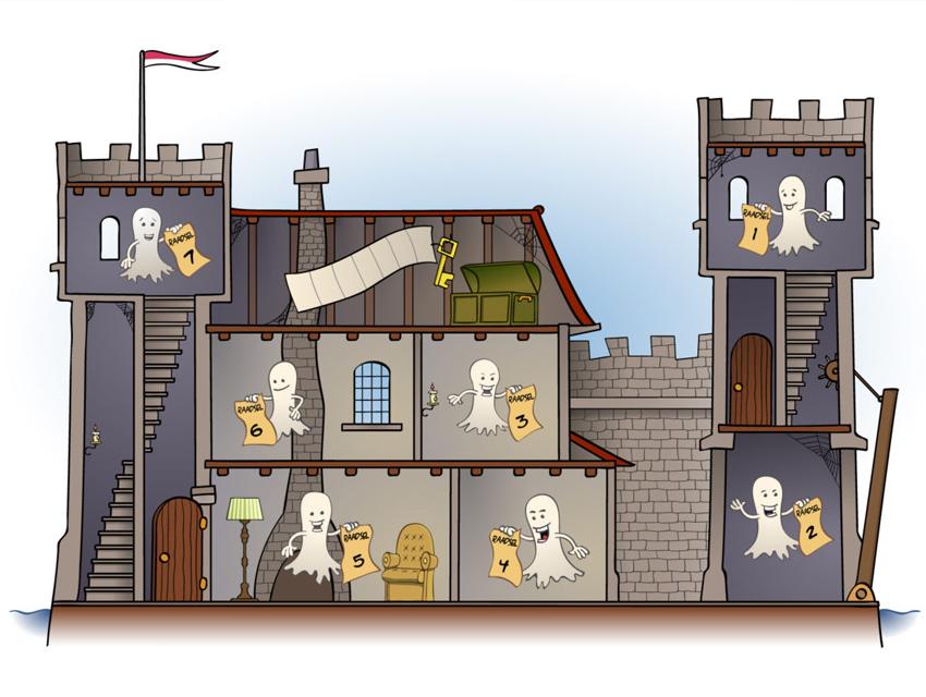 Portfolio voorbeeld van educatieve illustraties