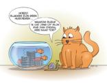 Cat&fish cartoon; het slakkenhuis?