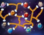 """Educatief spelbord uit de taalkanjers reeks """"Het planetenspel"""""""