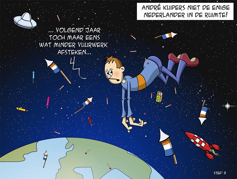 Andre Kuipers niet de enige Nederlander in de ruimte!