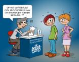 Cartoon; Toeslagen van de belastingdienst.