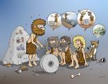 De uitvinder van het wiel had het niet altijd even makkelijk...