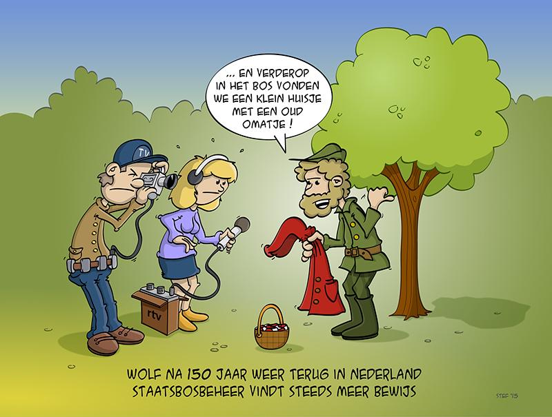 Staatsbosbeheer vindt bewijs voor bestaan Nederlandse wolf.